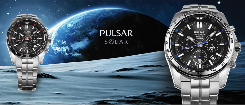 Slidergrafik zur Uhrenmarke Pulsar
