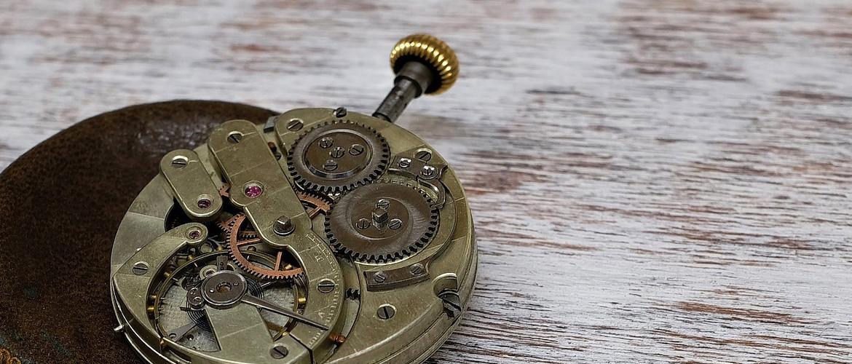 Bild vom Werk einer Taschenuhr