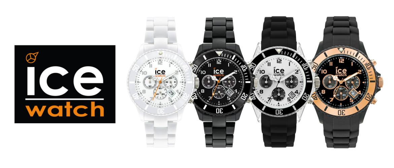 Slidergrafik zur Uhrenmarke Icewatch