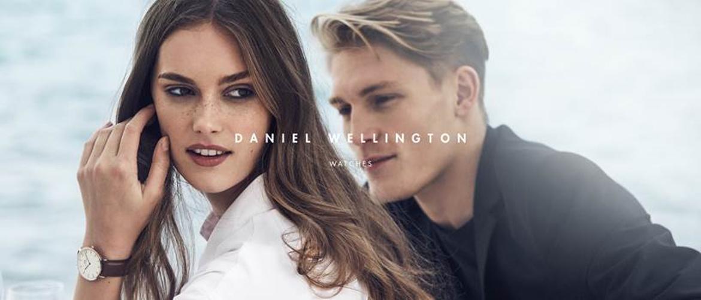 Slidergrafik zur Marke Daniel Wellington