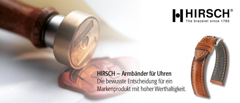 Slidergrafik der Marke Hirsch