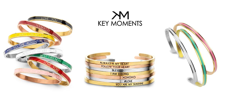 Slidergrafik der Marke Key Moments