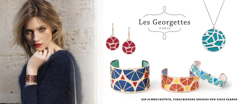 Slidergrafik der Marke Les Georgettes
