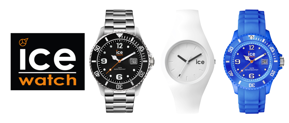 Slidergrafik der Marke ICE-Watch